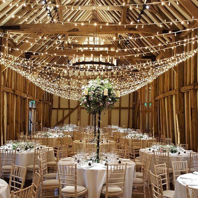 Happy wedding day Ali u0026 Oli ? & The 386 best Our Work // Wedding Lighting images on Pinterest | Barn ...