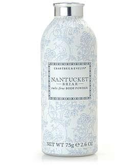 Nantucket Briar ® Talc-Free Body Powder | Bath & Body | Body Washes & Cleansers | Body Powders | Crabtree & Evelyn