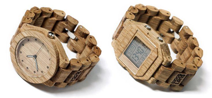 DREWNIANE ZEGARKI | WOODLANS producent Kraków - ręcznie robione zegarki na rękę z drewna dębowego