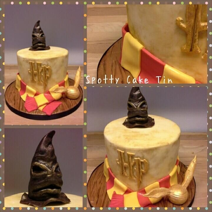 Harry Potter - Cake by Shell at Spotty Cake Tin
