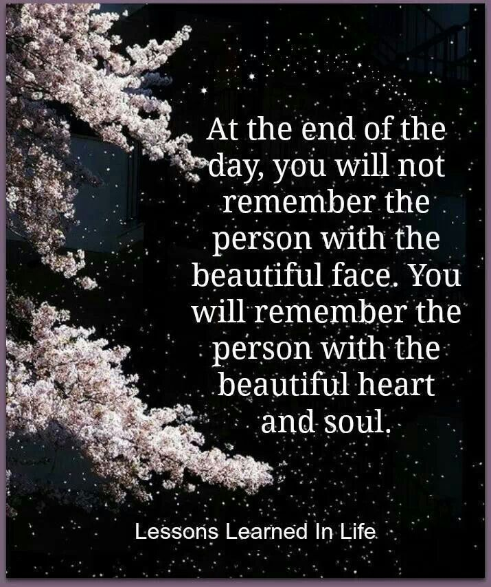 Quotes On Beautiful Face And Heart: Beautiful Heart & Soul