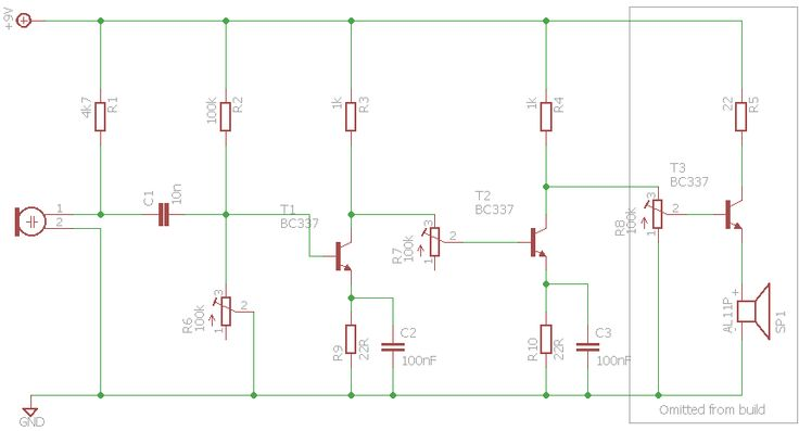 Experiment: 2 stage common emitter amplifier