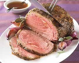 Schwans freshly hand trimmed, well marbled, seasoned Prime Rib is a cut above the rest.