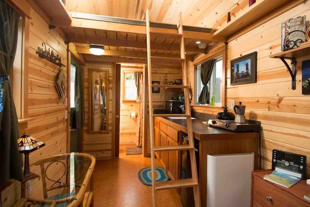 Take a Peek at America's First Tiny House Hotel: A Peek Inside The Tandem Guesthouse