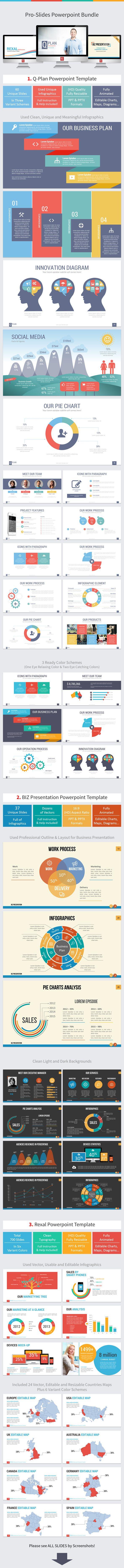 Pro-Slides Powerpoint Bundle (PowerPoint Templates)
