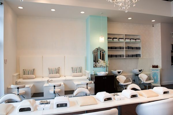 Check out these comfy and chic pedicure and nail stations - Interior design school newport beach ...
