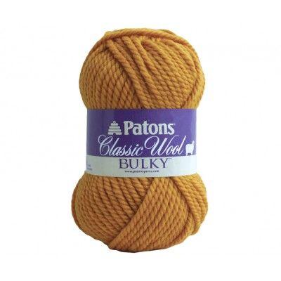 Classic Wool Bulky http://www.yarnspirations.com/