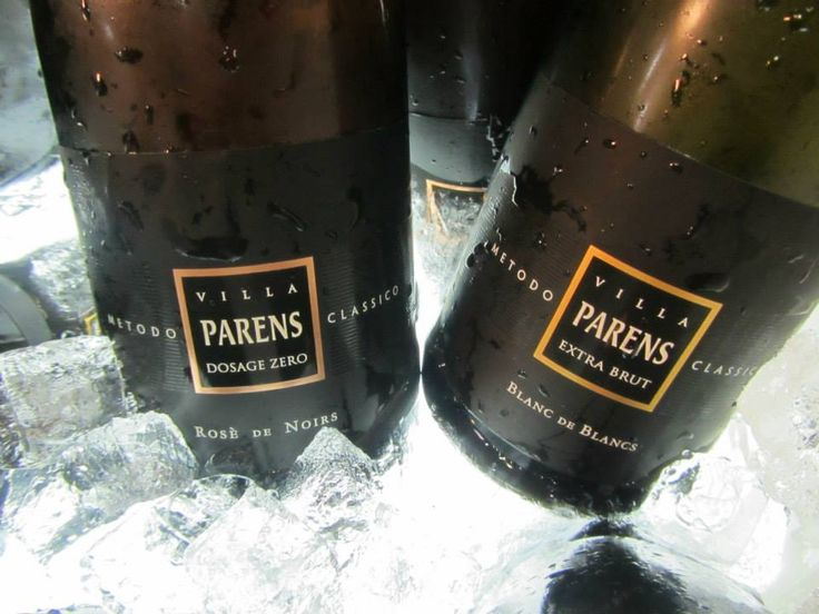 VILLA PARENS sparkling wines used for Andrea Cason' cocktails at our stand.