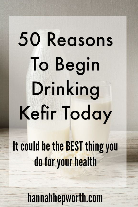 50 Reasons To Begin Drinking Kefir Today | It could be the BEST thing you do for your health | http://www.hannahhepworth.com
