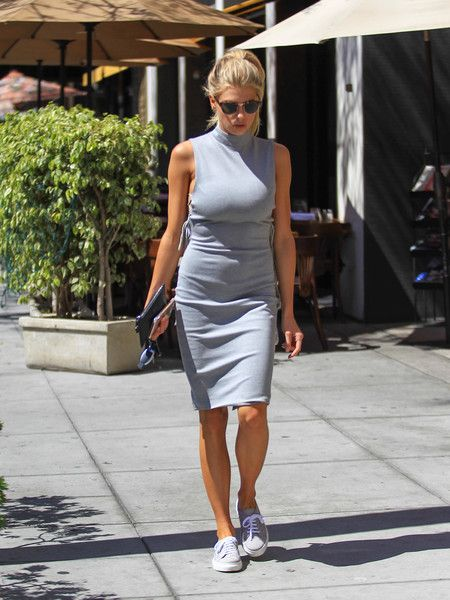 Charlotte McKinney is seen out and about on September 1, 2016.