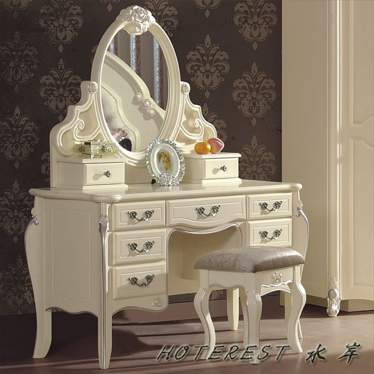 Makeup table google search ideas for the house for White makeup dresser