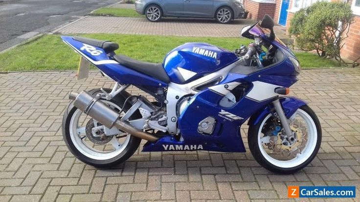 YAMAHA R6 2001 SPARES OR REPAIR PROJECT LOW MILES  #yamaha #r6 #forsale #unitedkingdom