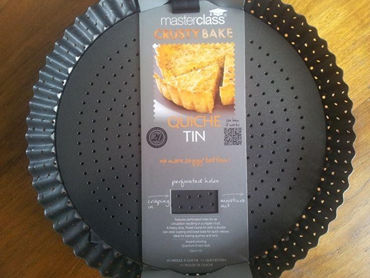 Crusty bake Taart / quiche vorm (2 maten)