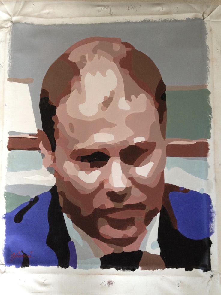 Josh Freidenberg oil on canvas