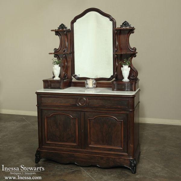 Antique Furniture   Antique Desks & Secretaries   19th Century French Louis  Philippe Rosewood Secretary~ - 685 Best ANTIQUE FURNITURE Images On Pinterest Desks, 19th