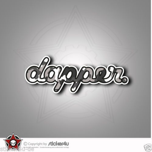 925D-Dapper-Sticker-Aufkleber-JDM-OEM-DUB-VAG-Stickerbomb-Turbo-illest