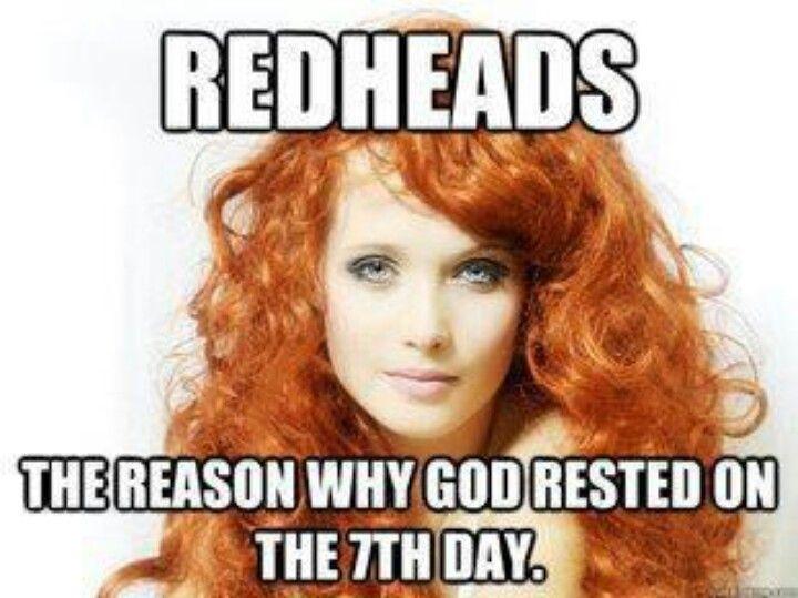 Redheads birthday sex