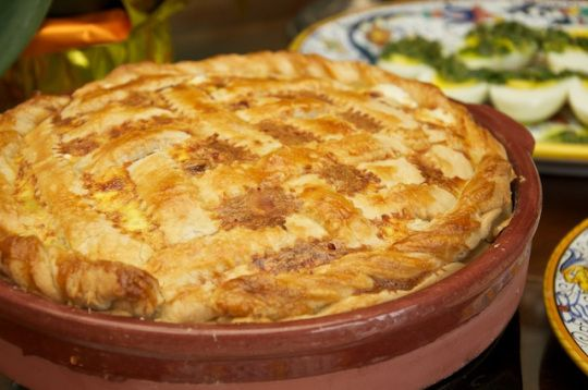 pizza rustica easter cheese and salumi pie pizza rustica easter cheese ...