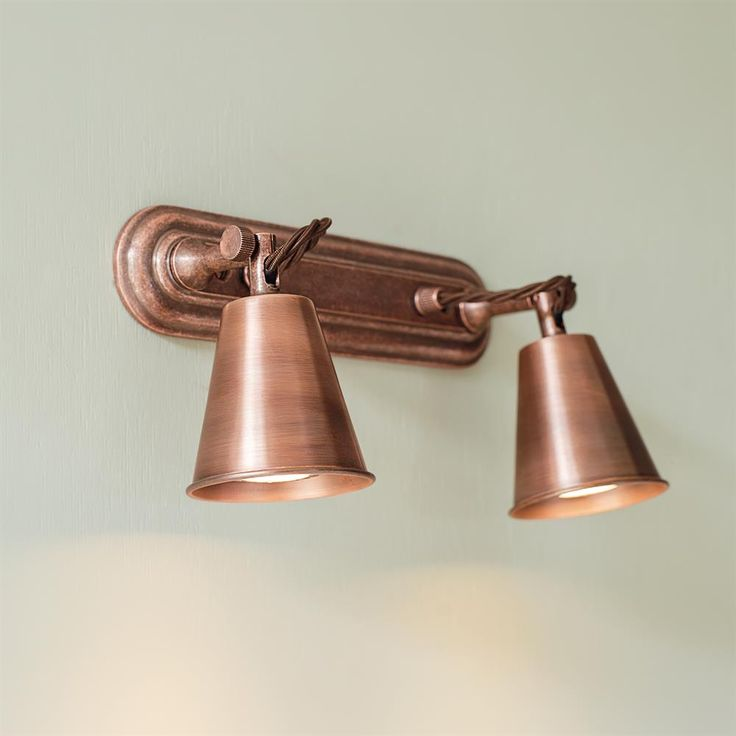 Double Curtis #Spotlight is now available in our stunning #Heritage #Copper finish.
