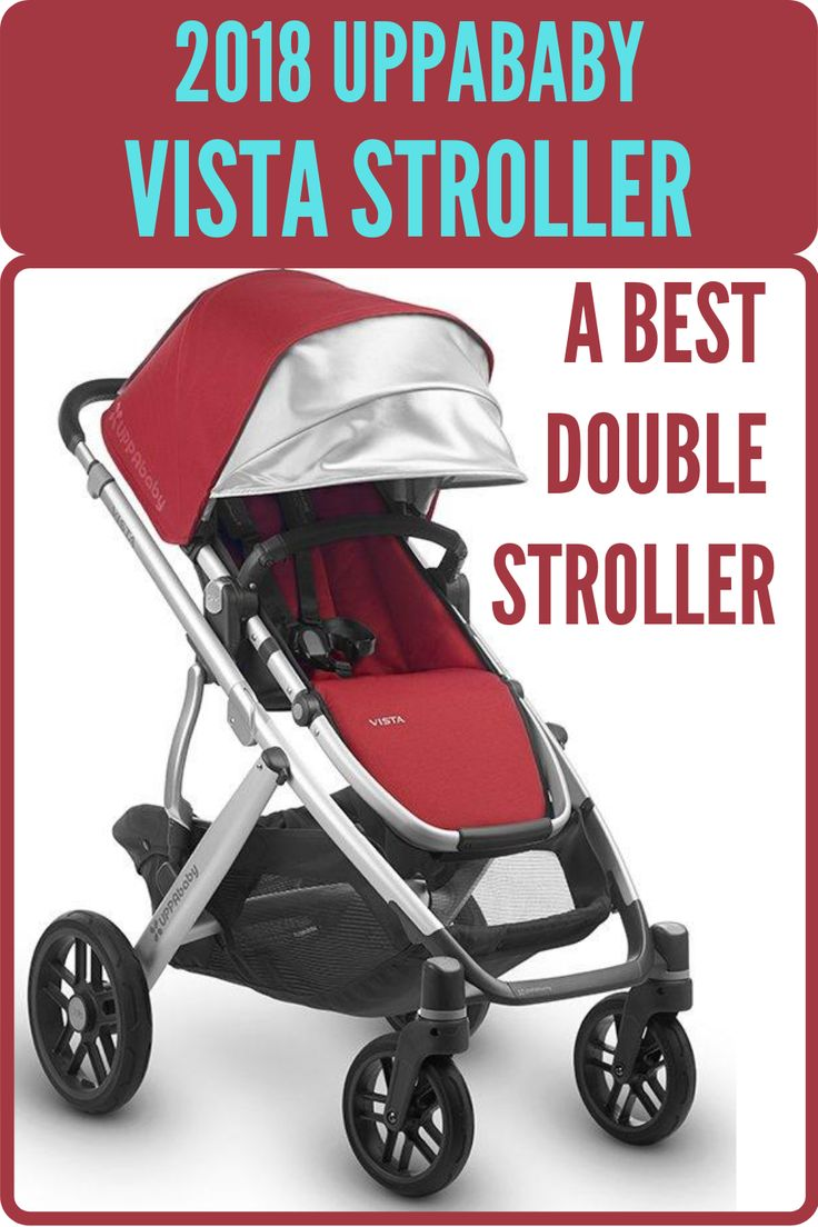 2018 UPPAbaby VISTA Stroller A Best Double Stroller with