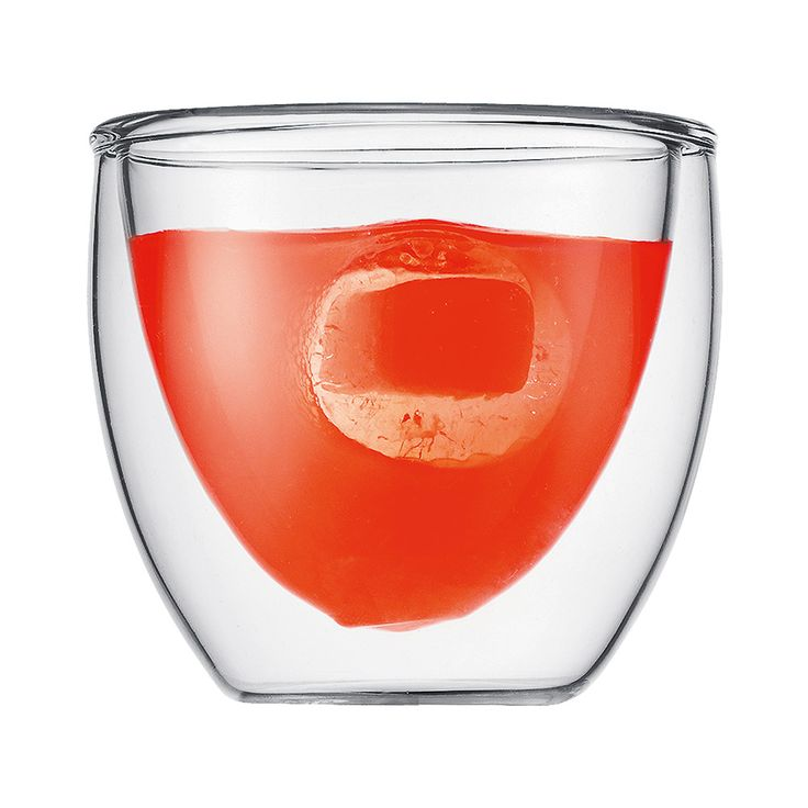 till glögg PAVINA Dubbelväggad Espresso Glas, 8 cl, 2-Pack, Bodum