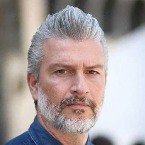25 besten Frisuren für ältere Männer 2019   Herrenfrisuren + Frisuren 2019 # Herrenfrisuren