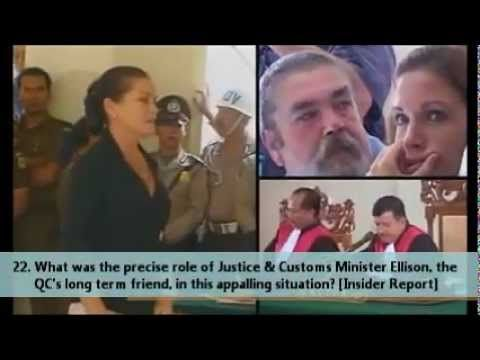 Schapelle Corby (updated version) 34 Questions the Australian Government...