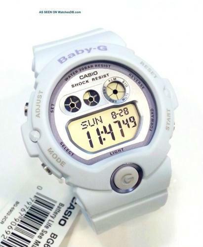 Casio Baby-G BG-6902-Reloj digital de cuarzo para mujer, correa de resina color Morado pastel (luz, alarma, cronómetro) Full nuevo $125.00 negociabes 7989-0305
