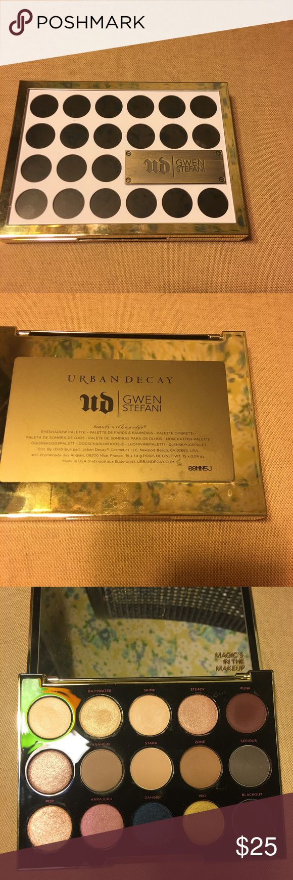 Urban Decay Gwen Stefani Urban Decay Gwen Stefani Eyeshadow Palette 100% Authentic  Used 5-6 times  Includes original box   No trades Urban Decay Makeup Eyeshadow