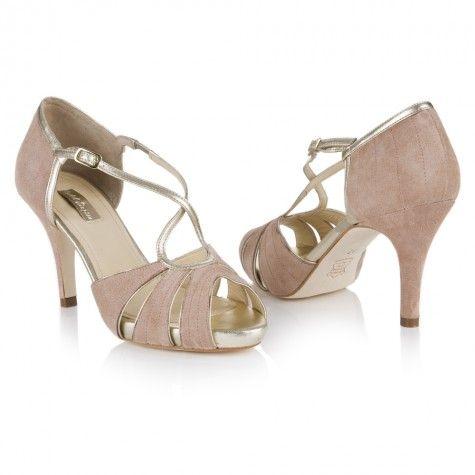 Victoria Blush Suede | Rachel Simpson Shoes