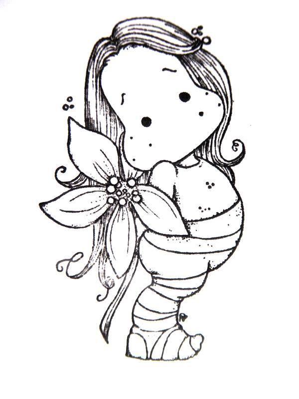 Aspen Holidays 16 #14 Poinsettia Tilda