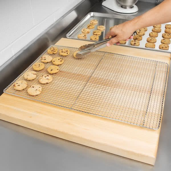 16 X 24 Footed Wire Cooling Rack For Full Size Bun Sheet Pan