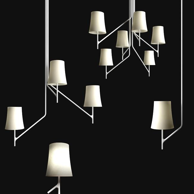Fosarini; bracci mobili di dimensioni diverse, leggeri come rami che si stagliano nello spazio