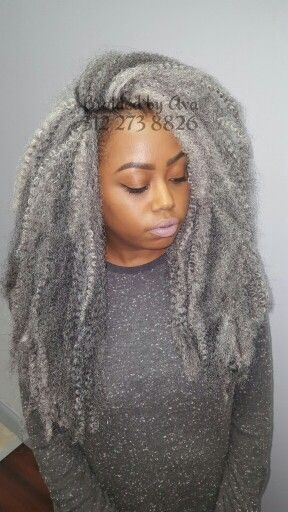 Marley hair, Chicago and Crochet on Pinterest