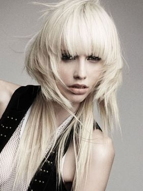 Superb 1000 Images About Long Asymmetrical Hair On Pinterest Short Hairstyles Gunalazisus