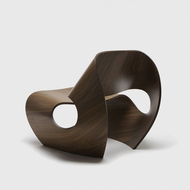 Cowrie Chair Is An Elegant And Attractive Design Inspired By The Concave  Lines Of Sea Shells, Being Its Curvilinear Shape Possible After An  Extensive ... Photo