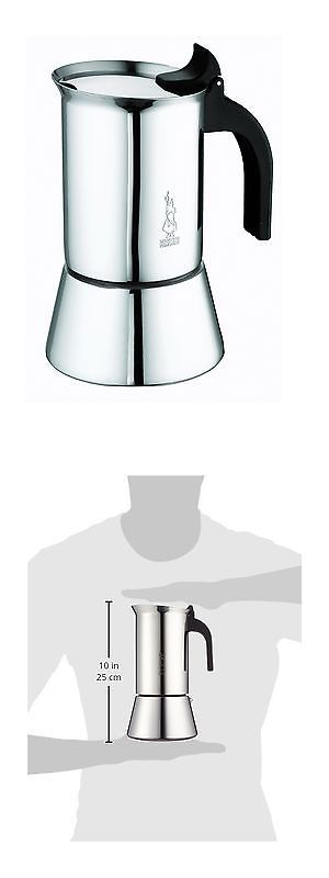 Other Kitchen and Dining Items 177014: Bialetti Elegance Venus Induction 10 Cup Stainless Steel Espresso Maker - New -> BUY IT NOW ONLY: $72.88 on eBay!