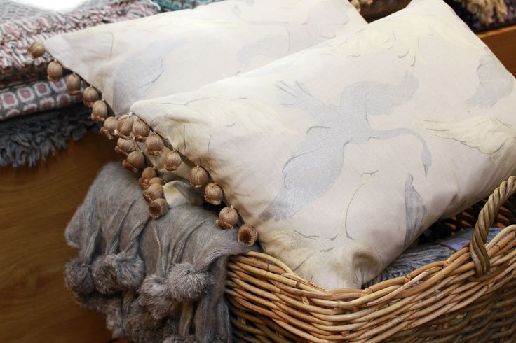 AUTUMN TREND: Soft furnishings in neutral colours