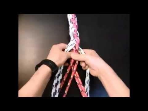 HOW TO MAKE 8 STRAND MOORING ROPE