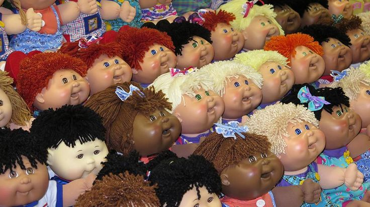 True story of cabbage patch kids, I never knew. Peace to Martha