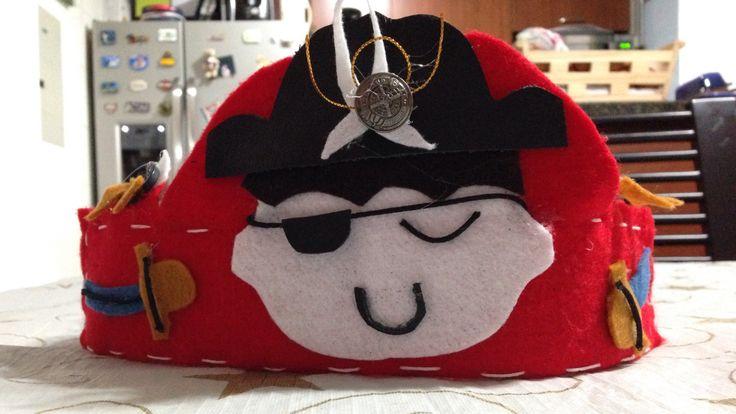 Piratas para niños pequeños.