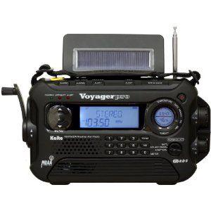 Solar Powered Emergency Radio 80