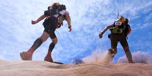 marathon des sables - sahara marocain