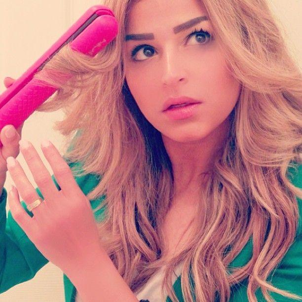 top 25 best hair straightener curls ideas on pinterest