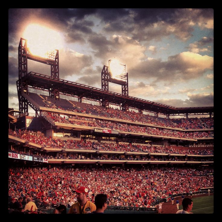 Phillies stadium.. awesome picture.. love to go to the games..