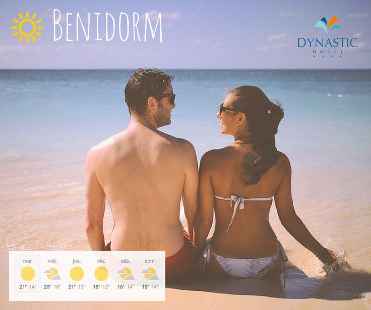 Ya no hay excusas! Toca disfrutar del buen tiempo! ☀ Nice weather!   ➡ http://www.hoteldynastic.com  #Benidorm