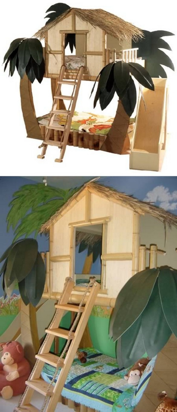 Jungle Bunk Bed Kaileys Bunkbed Picks In 2018 Pinterest Cool