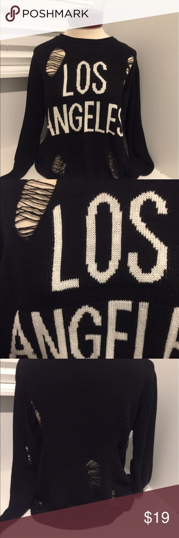 Forever 21 limited edition Los Angeles sweater S Size small limited edition Forever 21 Sweaters Crew & Scoop Necks