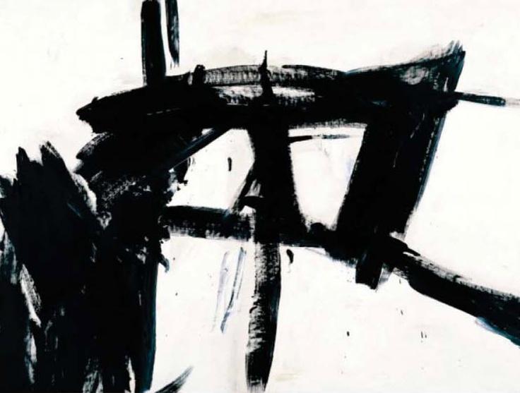 franz kline 1955 abstract