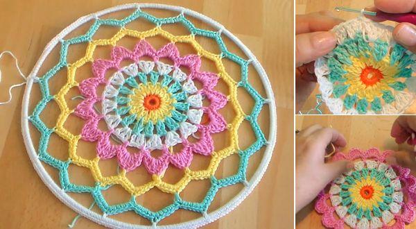 How-To-Crochet-Dreamcatcher